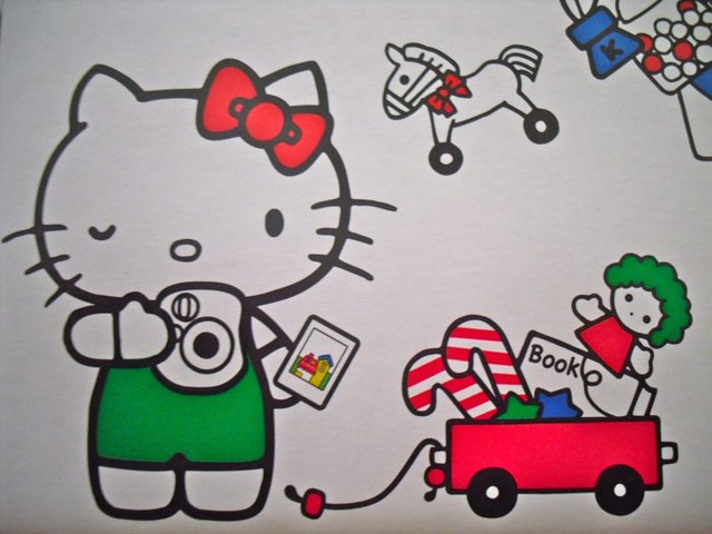 hello kitty instax