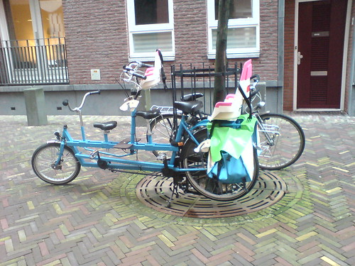 Oh, hello 5-seat family bike in Den Haag!