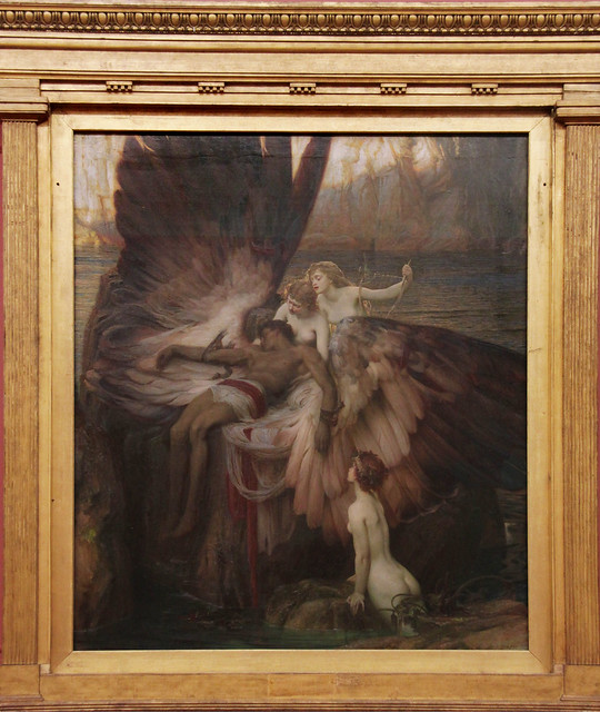 The Lament for Icarus, Herbert draper, 1898