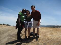 Bola, Bern and Rey hiking at lack Diamond Mines Part 3