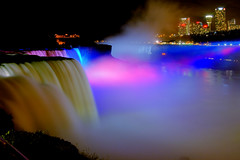 Niagara Colors (Wolfgang Staudt) Tags: travel blue panorama usa newyork ontario water colors beautiful yellow fog wow wonderful river lights niagarafalls boat nikon holidays rocks waves darkness nikond70 availablelight sigma waterfalls horseshoe wilderness lovelovelove reflexions vacancy wolfgang americanfalls spotlights peopleschoice niagarariver travelphotographie sixsixsixclub wolfgangstaudt staudt sigmaaf356328300dgmacro superaplus aplusphoto irresistiblebeauty favemegroup6 superhearts themawasserfoto colourartaward artlegacy nikonflickraward grouptripod