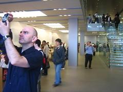 Joe in the Apple Store