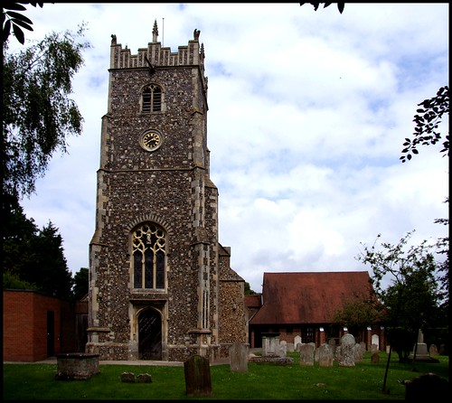 Rushmere St Andrew: a church of two halves (click to view)