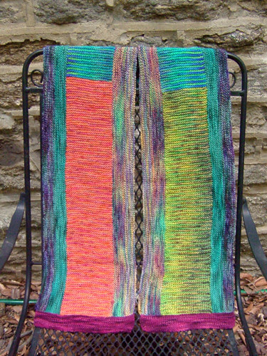 Multi-color Koigu Scarf by Loop