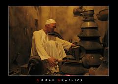 (Ammar Al-Abdullah) Tags: old people person gulf arab job