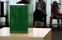 documenta 12 | John McCracken / Untitled (Green Box) | 1966 | Aue-Pavillon