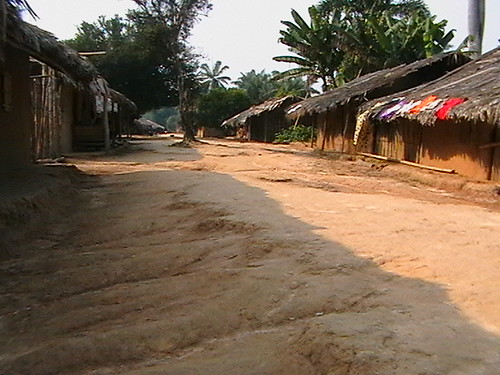 Only street in Obengi