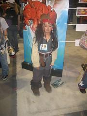 a tiny, glassy-eyed Jack Sparrow (SerenityF) Tags: sandiegocomiccon2007