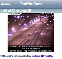 Atlanta Traffic Cams for the iPhone