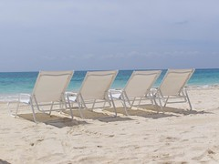 Beach chairs (truemoss1) Tags: ocean beach mexico chairs rivieramaya beachchairs reptition mayakoba