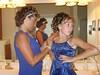 blue dress wedding photo