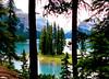 Spirit Island splendor -- Jasper (Walt K) Tags: lake canada mountains island nationalpark jasper spirit rocky alberta maligne specland waltk flickrslegend ascannedpic
