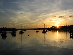 Chester Wharf, Nova Scotia  - A Sunset - by Tech Mentor