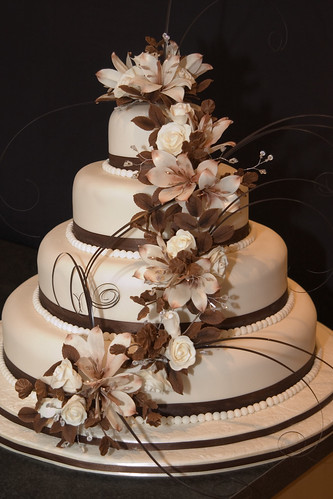 beautiful elegant wedding cakes