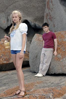 Foto Daniel Radcliffe filme cena de sexo - 02