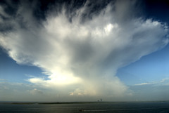 Galveston and Cloud