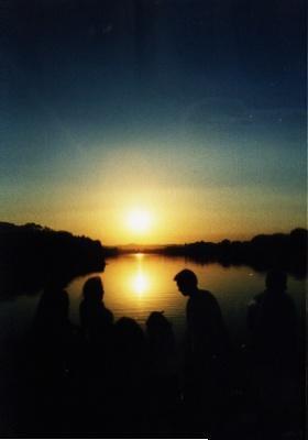sunset at mulah mutha river