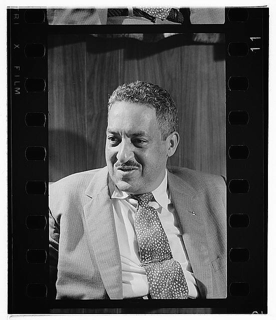 Thurgood Marshall, Civil Right Lawer, Supreme Court Justice