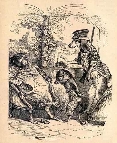 014- Un zorro en una trampa