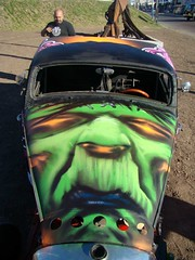 FRANKY A PLENO (emy mariani) Tags: road art graffiti rat arte vida intervencion pura emymariani leanfrizzera