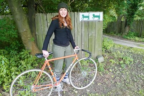 Waja Track Bike, Home for Wayward Cats