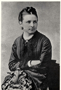 Florence Cushing in her senior year