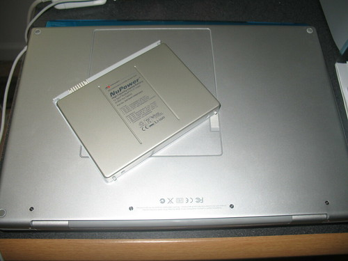 NuPower MBP battery replacement