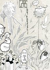 czas byoci (kropkiwpaski) Tags: illustration grey hands time drawing gray z past fru czas ble rka rysunek rce donie grpahic ilustracja