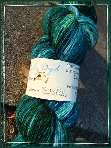 creatively dyed 'calypso' in colorway 'easter'