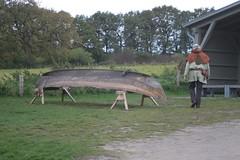 Wikingerboot Nökkvi und Reinhard Erichsen Wikinger Museum Haithabu WHH 24-10-2010