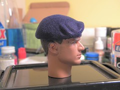 BERET FLOCKING TUTORIAL STEP 9