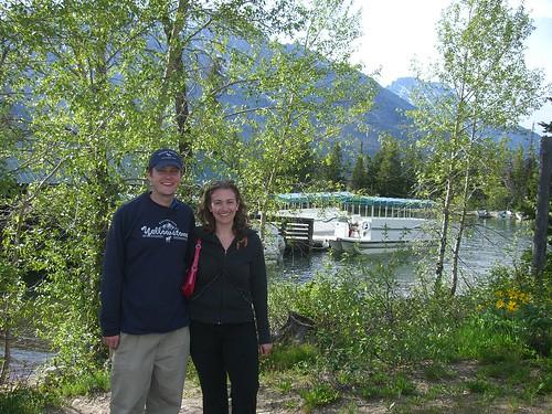 Dan and Jessica at Grand Teton National Park