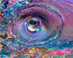 Water Drops On CD - by Deathwaves