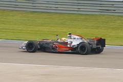 USGP 2007 - Lewis Hamilton - Victory Lap