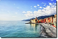 eXtended View from Camogli (HDR version) (Available for licensing and purchase) (! .  Angela Lobefaro . !) Tags: trip travel italien sea vacation sky italy panorama seascape nature topf25 architecture clouds landscape firefox topf50 topv333 meer europe italia peace harbour quality patterns liguria ligury dream gimp himmel wolken peaceful bleu ciel genoa genova cielo nubes linux nuages camogli ubuntu portofino allrightsreserved top111 italians isola sogno peopleschoice traum kubuntu marenostrum digikam marmediterraneo cesvi bestphotosonflickr 25faves abigfave bestpicturesonflickr qtpfsgui holidaysvacanzeurlaub angiereal 200750plusfaves noqualitynocry maxgreco angelalobefaro angelamlobefaro maremeditteraneo wwwcesviorg angelamarialobefaro massimilianogreco riproduzioneriservata