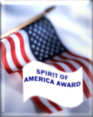 SPIRIT OF AMERICA AWARD (NEW)