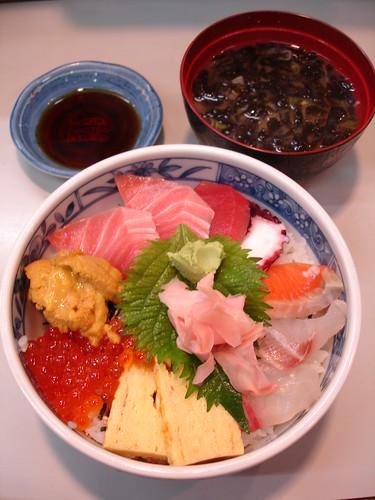 JPY1000 海鮮丼