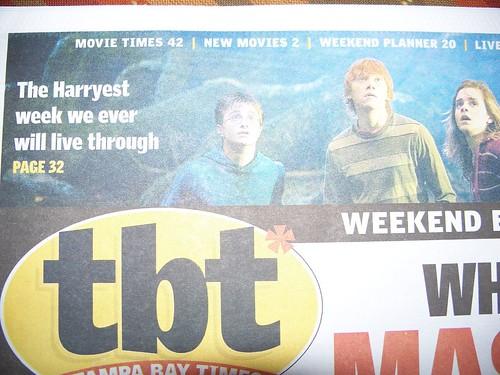 HP headline