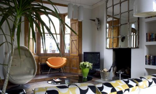 Mid Century Modern And Rustic Can Get Along Just Fine