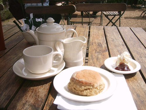 Cream Tea, Canons Ashby