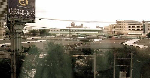 Chatuchuk Market, rooftops