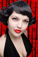 Me in Black and Red (-Ninotchka-) Tags: red portrait fashion digital photography colombia photographer publicidad retrato bogot moda lips diana wig retouch pinup sandoval fotografa fotgrafa retoque ninotchka chamizo advertaising exhibetusfotos freedancephotographers wwwdianasandovalcom