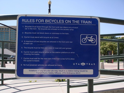 Salt Lake City Transit is Bike Friendly