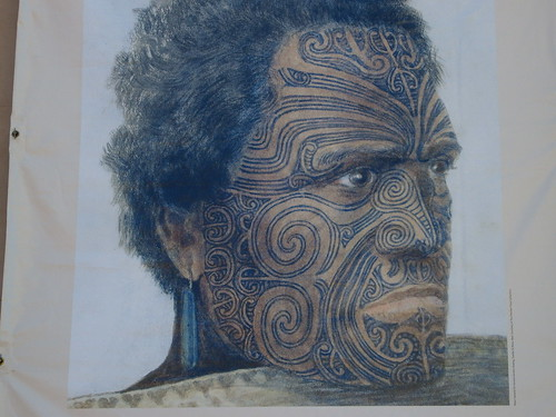 Maori face tattoo by Cherie 76