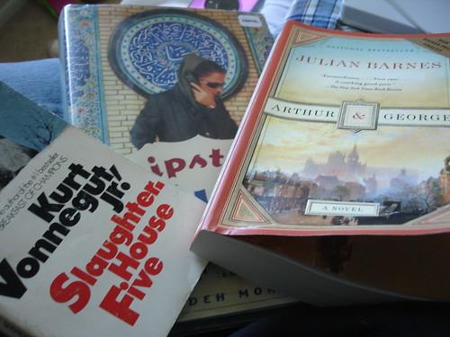 Books on my list, On my mind
