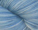 Rubina's Blue Sky Happiness BFL Fingering Weight Yarn - NATURAL indigo dyed - 4 oz