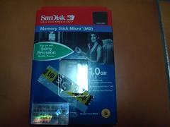 SanDisk M2 1GB