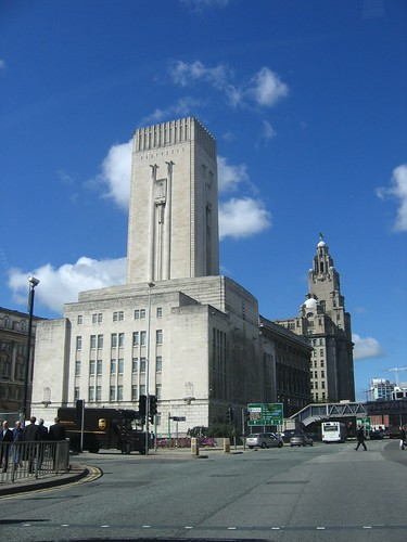 Mersey Tunnel ventilator building