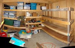 Exceptionnel Shed/Shelves Pano