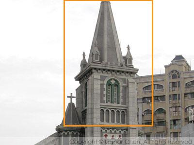 玫瑰聖母主教座堂-尖拱